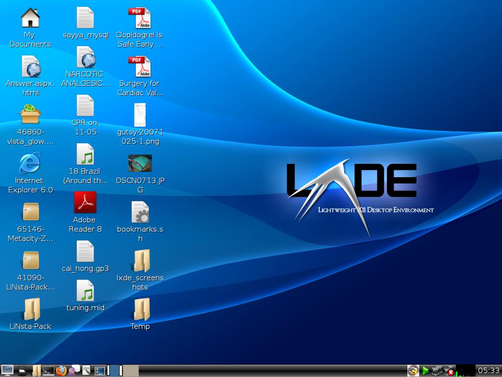 Openbsd Desktop Environment Lxde Desktop Environment
